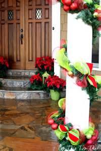 christmas decor outside the house duke manor farm