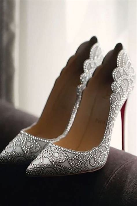 Silver Bridal Heels by 20 Wedding Shoes For 2017 Trends Oh Best Day