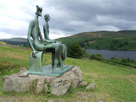 King Sculpture Garden by Scotland I Do Not Despair