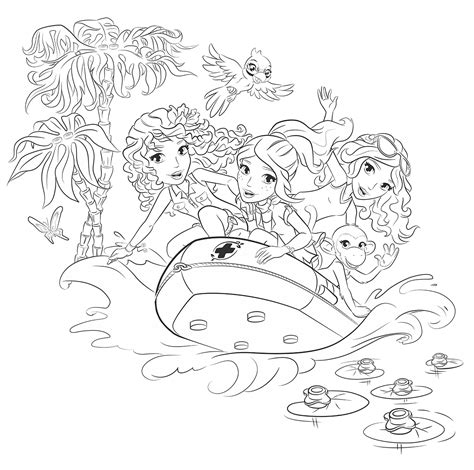 lego friends coloring pages az coloring pages