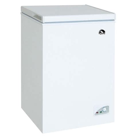 igloo freezers 3 5 cu ft chest freezer in white frf434