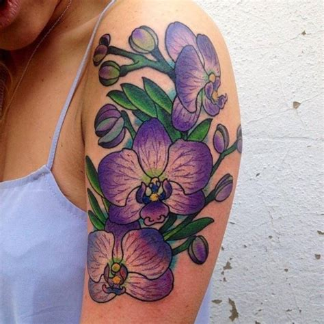 purple orchid tattoo designs 101 beautiful floral tattoos designs that will your mind