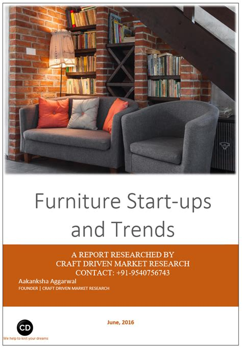 furniture industry furniture start ups and trends craft driven research