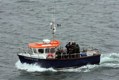 fishing boat trips northern ireland causeway lass portrush sea fishing boats portrush