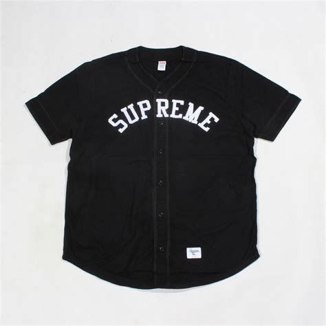 Shirt With Accessories Black White S M L 17410 supreme baseball jersey black size s m l xl in t shirts