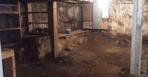 how to transform a d basement with a dirt floor
