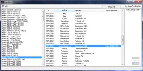 cara membuat file firmware ftf dari xperiafirm menggunakan cara membuat sendiri firmware ftf menggunakan xperifirm