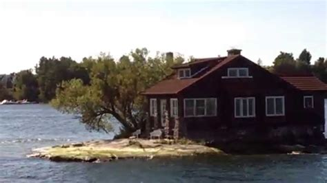 just room enough island just enough room island alexandria bay youtube