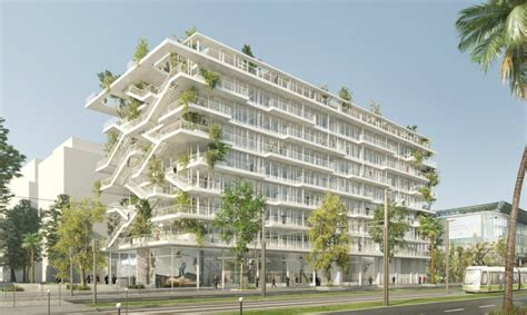 New Construction House Plans French Architects Unveil Plans For Bio Climatic Inside