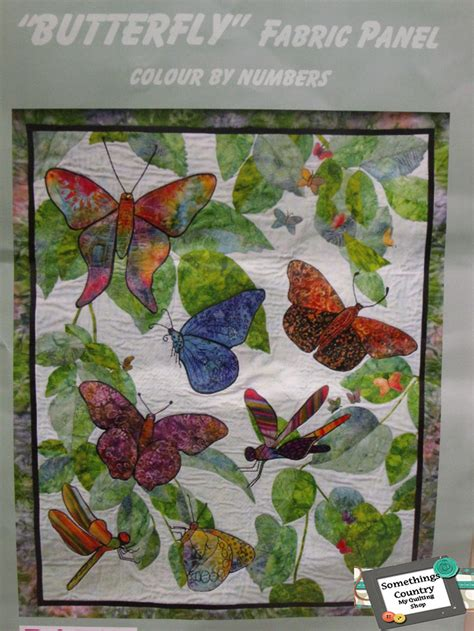 sewing pattern kits with fabric fat quarter kit batik quilt x number butterflies patchwork
