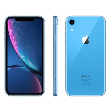 apple iphone xr bleu 64 go achat smartphone pas cher avis et meilleur prix cdiscount