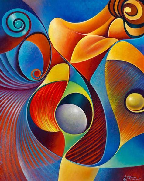 dibujos realistas y abstractos pinturas abstractas modernas para comedor ideas para el