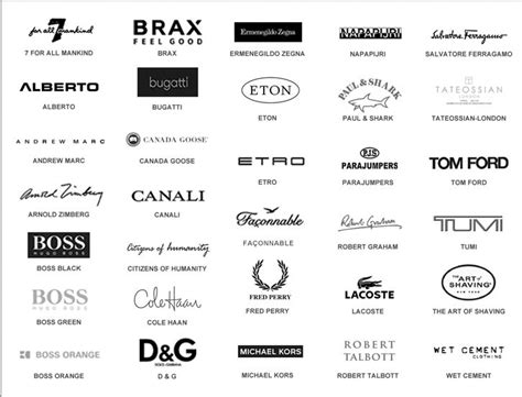 list of designers items in inspire man s fashion store on ebay