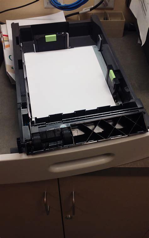 Roller Printer fargo bank lexmark ms810 network printer feed