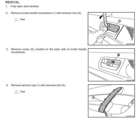 how to pull off inner panel rear door how to take off interior door panel image collections