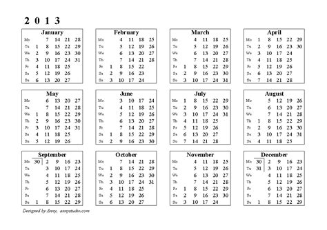 search results for free printable 2013 yearly calendar 2013 yearly calendars printing male models picture