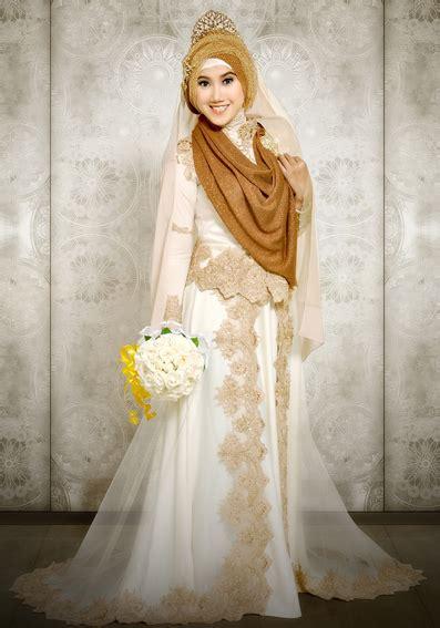 Bridal Dress Gaun Kebaya Wedding Pernikahan Prewed Foto model kebaya pengantin muslim modern yang menginspirasi