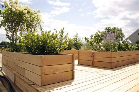 modern balcony planters modern deck planters mesmerizing landscape pinterest