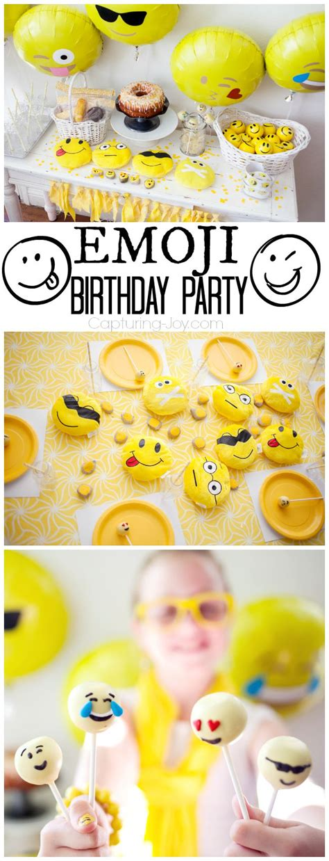 emoji party how to throw emoji party partyworld