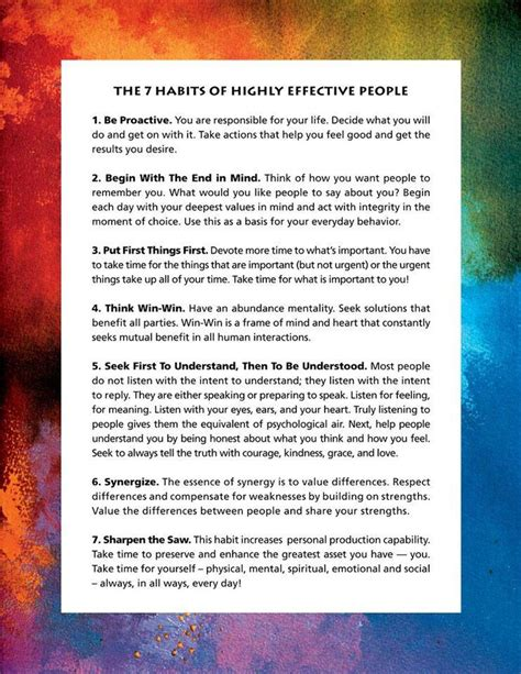 the 7 habits of 7 habits of highly effective people interesting