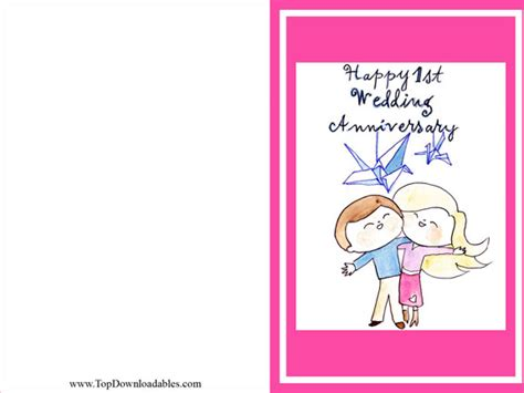 Wedding Anniversary Card Printable by 7 Best Images Of Free Printable Anniversary Cards