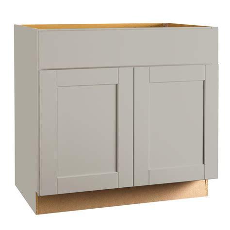 36 inch kitchen base hton bay shaker assembled 36 x 34 5 x 21 in base bath