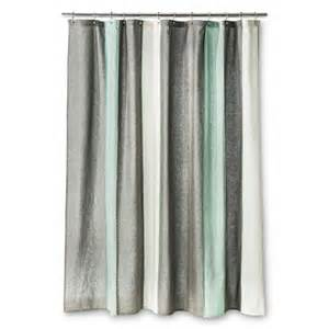 Vertical Striped Shower Curtains - threshold blanket stripe shower curtain gray target