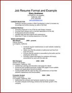 14 simple resume sendletters info