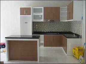 Small U Shaped Kitchen 40 model gambar dan ukuran kitchen set yang tepat untuk