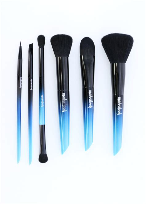 makeup brush luxe brush set