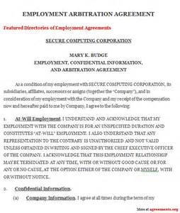 arbitration template arbitration agreement sle arbitration agreement