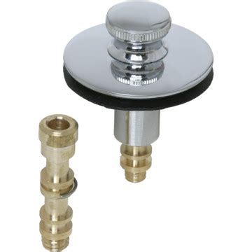 remove bathtub stopper push pull tub drain stopper 5 16 quot or 3 8 quot threaded pin
