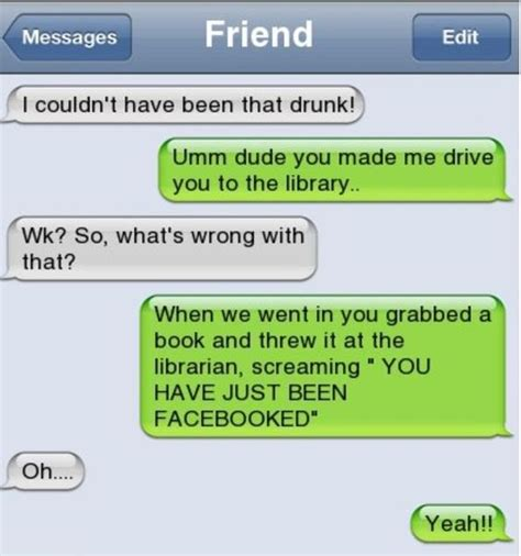 iphone sms  couldnt    drunk http