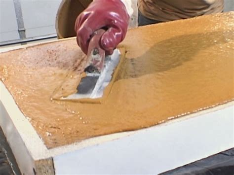 Concrete Countertops Made Simple by How To Pour A Simple Concrete Countertop How Tos Diy