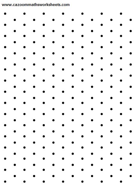Isometric paper | Cazoom Maths Worksheets