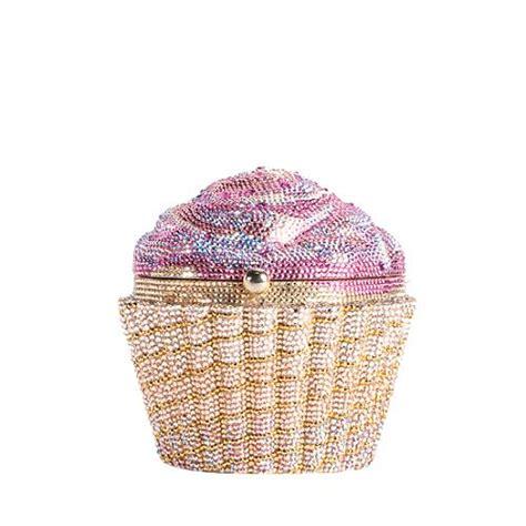 Strawberry Cupcake Clutch Sweet by Judith Leiber Strawberry Cupcake Clutch