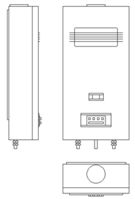 Scaldabagno dwg – Terminali antivento per stufe a pellet