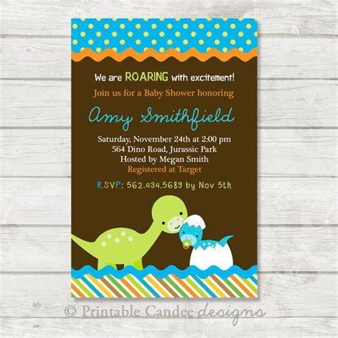 Dinosaur Baby Shower by Dinosaur Baby Shower Invitation Dinosaur Baby Shower