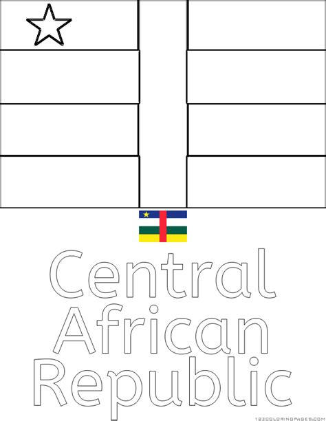 Country Flags To Color by Click The Flag Of Liberia Coloring Pages To View Printable