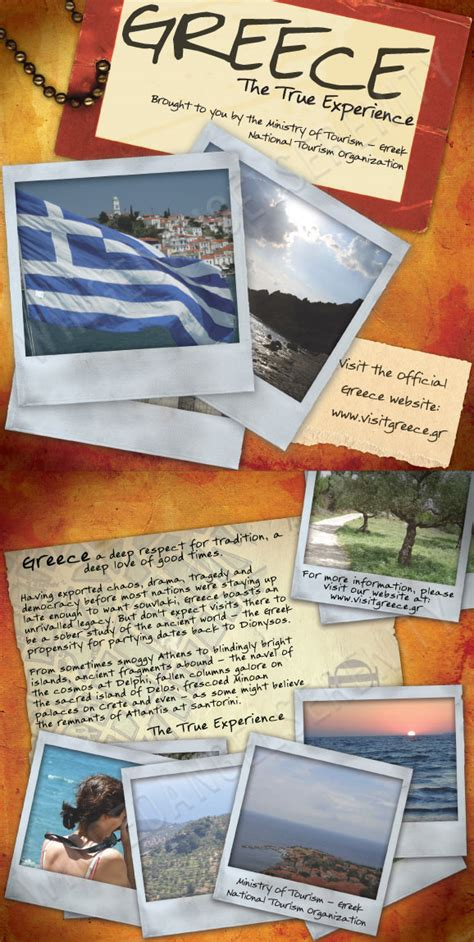 travel brochures templates travel brochure greece travel brochures