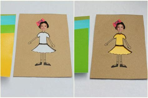 Paper Doll Crafts - customizable paper dolls twists for and crafts for