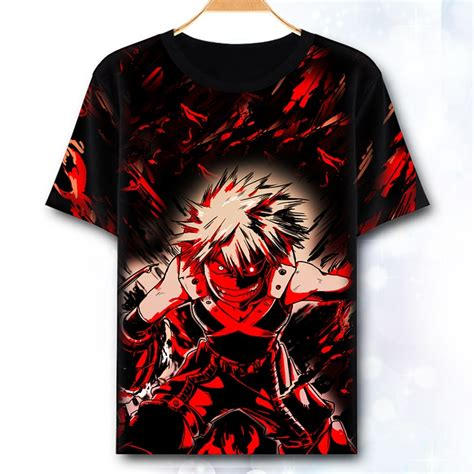 hero academia cosplay shirt japan anime boku