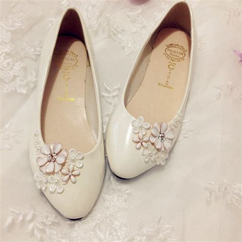 stylish flat ivory wedding shoes for women 6 life n fashion