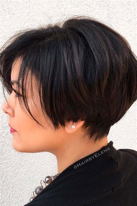 short hairstyles with weight lines blended in 17 best ideas about medium short haircuts on pinterest