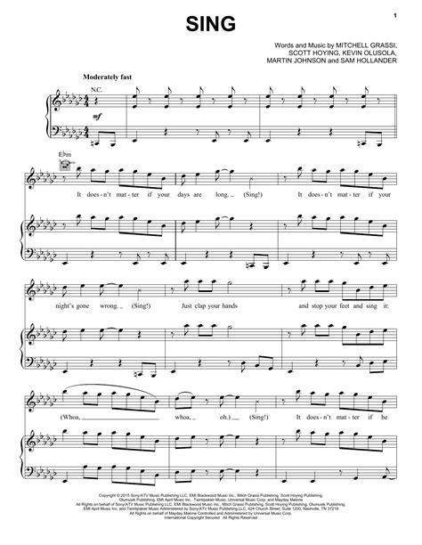 lyrics by pentatonix pentatonix sing sheet