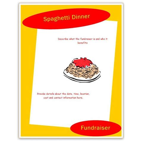free fundraising flyer templates find free flyer templates for word 10 excellent options