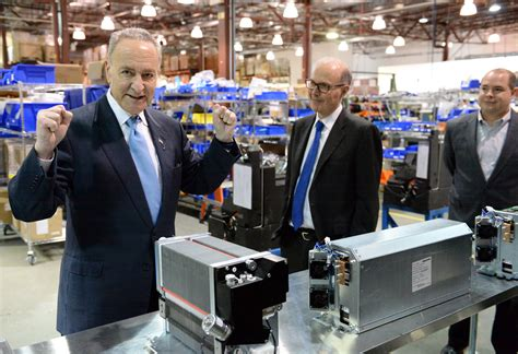 pug power schumer plugs fuel cell energy tax credits dailygazette