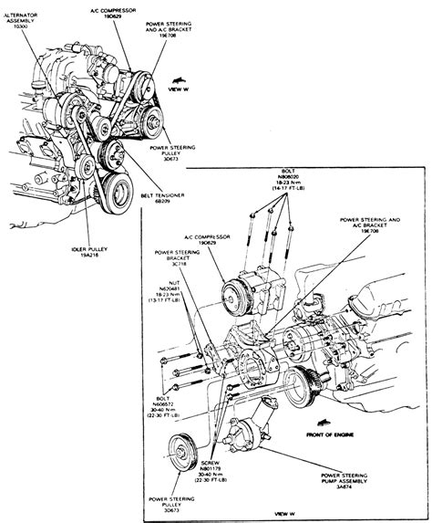 repair guides steering power steering