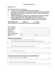 best photos of personal reference form template