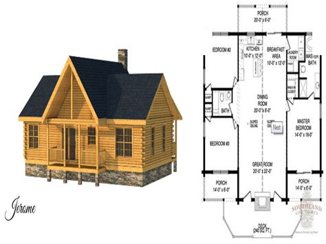Log Cabin Floor Plans Small | small log cabin home house plans small log cabin floor